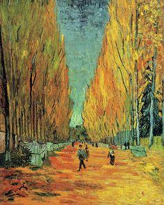 L'allée des Alyscamps (Avenue in Arles)