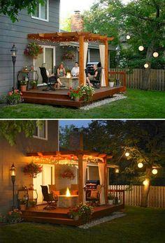 25 Beautifully Inspiring DIY Backyard Pergola Designs For Outdoor Enterntaining . 25 Beautifully Inspiring DIY Backyard Pergola Designs For Outdoor Enterntaining - Outdoor Life, Outdoor Spaces, Outdoor Living, Outdoor Ideas, Party Outdoor, Diy Pergola, Pergola Kits, Diy Patio, Outdoor Pergola