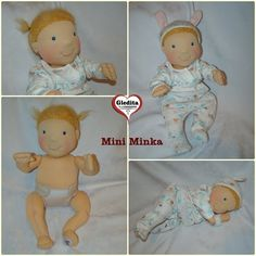 Gledita baby doll for playing Waldorf doll by Anime Dolls, Waldorf Dolls, Hungary, Baby Dolls, Teddy Bear, Etsy Shop, Cartoon, Toys, Creative
