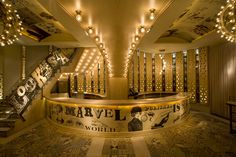The Marvel is a bar and concert space in one of Madrid hottest new nightlife addresses on Joaquin Costa Street. by Parolio