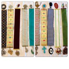 Bookmarks from Upcycled Vintage Jewelry