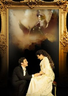 David Shannon and Rachel Barrell. One of my favorite Raoul/Christine pairs