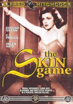 the skin game official movie poster hitchcock - Google Search