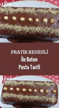 Pratik Kedidili İle Baton Pasta Tarifi Practical Cats with Baton Cake Recipe Delicious Cake Recipes, Yummy Cakes, Cake Pricing, Funfetti Cake, Cake Business, Fashion Cakes, Cake Videos, Homemade Vanilla, Vegan Cake