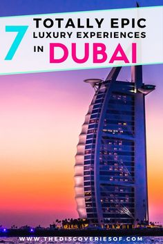 Dubai! The luxury playground in the desert is the ultimate destination for an all-out holiday. 7 incredible things to do in Dubai for your travel inspiration. Read more.