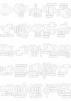 Letras 3d Corte Manual Formatos Png, Sgv, Pdf E Sillhouette en São Paulo, Brasil