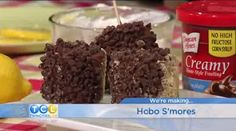 "Easy-to-make, non-bake s'mores called ""Hobo S'mores"" by Nancy Burgeson.   Find the recipe here: Http://twincitieslive.com/article/stories/s3815426.shtml?cat=12553"