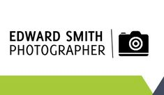 General Photography Business Cards #camera