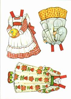 The Gingham Becky's Clothes 1 (Becky's Playroom)