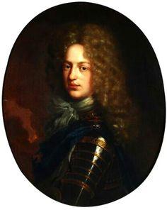 Portrait de Philipp Wilhelm August von der Pfalz, prince palatin de Neubourg Liniedes Wittelsbach, vers 1690 Pieter van der Werff