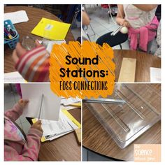 Sound stations Sounds Good, Science Lessons, Kids Playing, Activities, Music, Art, Musica, Art Background, Musik