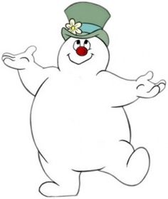 Frosty the Snowman...make him as the door though!