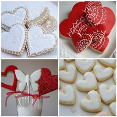 https://flic.kr/p/7CNNqh | Red & White sweet hearts | The photos in my…