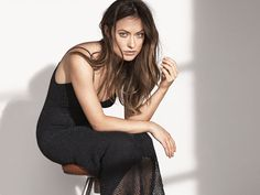 "Actress Olivia Wilde fronting H&M's ""Conscious Exclusive"" campaign."