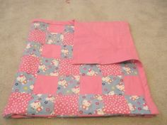 Hello Kitty Baby Blanket Hello Kitty Crib by TakeTwoBabyQuilts, $55.00