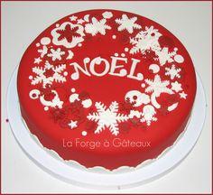 Snowflakes christmas — Christmas  La Forge à Gâteaux