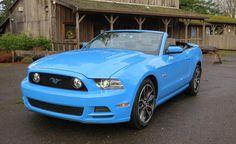 Mustang GT in Grabber blue :)