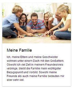 """""""Meine Familie"""" heißt der neue #Aufsatz auf deutschfans.com. Wie findet ihr eure #Familie? #Deutschlernen"""