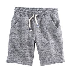 Boys 4-7x SONOMA Goods for Life™ Marled Pocket Shorts, Size: 7X, Med Grey