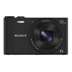 Sony DSC-WX350 18MP Black Digital Camera