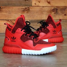 febbc8e83 Adidas Tubular X 3M Reflective SHOES S74929 red sneakers