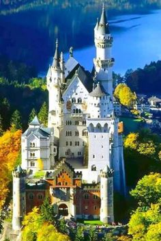 Castle of childhood dreams