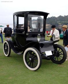 1913 Waverley Electric Model 93  And we thought electric cars were new . . .