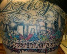 Last Supper Tattoo #14