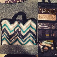 The Timeless Beauty Bag is just the right size for storing your favorite make up and beauty products!