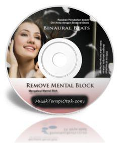 CD Terapi Cara Mengatasi Mental Block | Rahasia Teknik dan Musik Relaksasi untuk Terapi Gelombang Otak