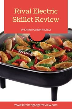 Check out the review of the Rival Electric skillet, a top pick for an electric fry pan. Make a variety of delicious things at home quickly and easily with the Rival skillet. #skillet #electric #rival #rivalskillet #cooking #food #breakfast #home #christmas #holidays #foodie