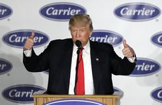 A new round of layoffs is taking effect at the Carrier Corp. factory in Indianapolis, after Donald Trump touted a deal that staved off the plant's closure.
