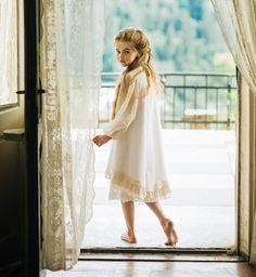 "hemline: hi-lo and lace.....ALALOSHA: VOGUE ENFANTS: Aristocrat Kids SS2015 collection ""Royal Garden"""