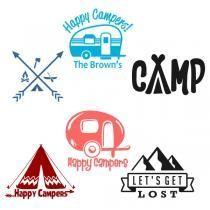 Camping Svg Cuttable Design