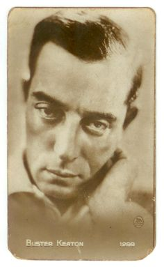 Buster Keaton Cigarette Card
