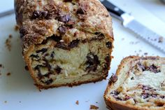 Chocolate Chip Yeasted Coffee Cake by Martha Stewart and Sweet and Crumby