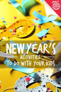 Even if you're staying home, this season's New Year's activities don't have to be boring. Make everyone some fruity bubble tea and start counting down with these great family celebrations. Over 100 Family-Friendly New Year's Activities How to Plan a Kids' New Year's Eve Party via Kids Activities Blog New Year's Coloring Pages for Kids …