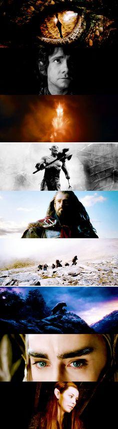 Beyond darkness… beyond desolation… lies the greatest danger of all. #thehobbit