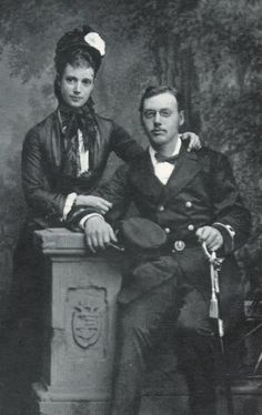 Empress Marie Feodorovna and her brother Waldemar