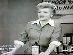 Lucy in TV commercial - Vitameatavegamin