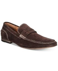 5960c8f3aef Kenneth Cole Reaction Men s Crespo Suede Penny Loafers   Reviews - All Men s  Shoes - Men - Macy s