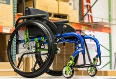 Visit http://www.kimobility.com/DealerLocator.action to find the nearest dealer in your area.  This Rogue has a Candy Blue frame and the Green Anodizing package.  Was this customer a Seattle Seahawks fan?? Visit www.kimobility.com to view our current color options on our full selection of pediatric & adult manual wheelchairs. #FunFrameFriday #KiMobility #SeahawksFan #GreenAnodizing #CandyBlue #Wheelchair #ManualWheelchair #Ultralightweight #Adult #Rogue