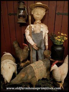 country primitive home decor used Primitive Pumpkin, Primitive Homes, Primitive Folk Art, Primitive Crafts, Primitive Christmas, Country Primitive, Primitive Pillows, Primitive Autumn, Primitive Stitchery