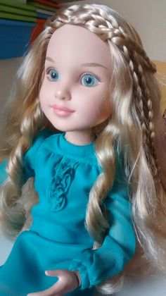 Nicolette. Bfc ink doll
