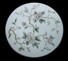 VINTAGE NORITAKE CHATHAM CHINA 5502 FLORAL DINNERWARE BREAD & BUTTER PLATE  #NORITAKE