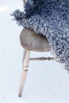Stylewatch: Sheepskins onchairs - Design Hunter - UK design & lifestyle blog