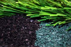 Ngày nay, hạt cao su (rubber granules) là một trong những ứng dụng mới nhất được sử dụng phổ biến trong các công trình xây dựng.