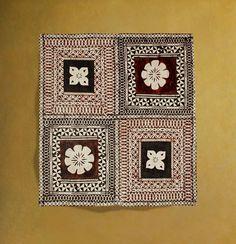 Tapas, Wooden Corbels, Diy Wall Painting, Simple Rangoli, Tribal Patterns, Frame Display, Tribal Art, Indian Art, Doodle Art