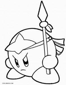 Kirby Coloring Pages Con Imagenes Dibujos Princesas Para