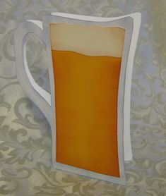 Stamp-n-Design: Pitcher of Beer - FREE Template